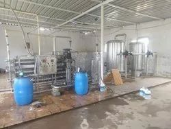 Industrial water RO plant