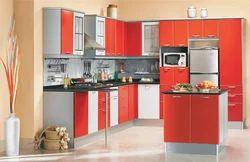 Residential Aluminium Modular Kitchen, Warranty: 5-10 Years
