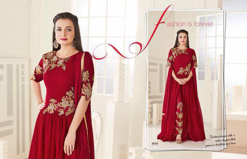40b024933a Red Fashion Bollywood Designer Indian Wear Salwar Suits, Designer ...