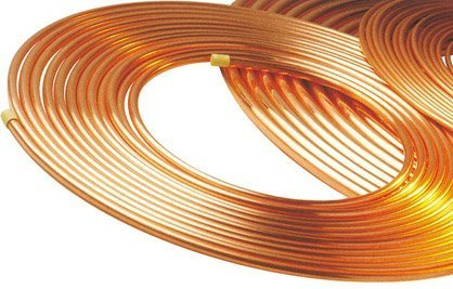 AC Copper Pipe Installation Service, Thickness: 0.58 mm