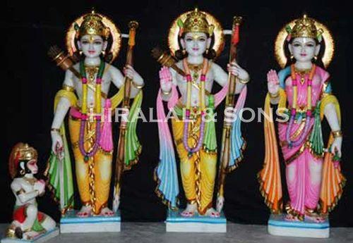 Ram Darbar Statues Polished Marble Ram Darbar Statue