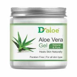 D-Aloe Pure Aloe Vera Skin Gel, Packaging Size: 50-300 Gm