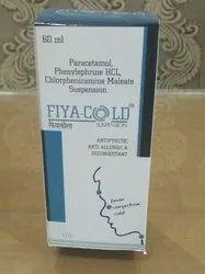 Paracetamol Phenylephrine HCL Chlorpheniramine Maleate (FIYACOLD SYP)
