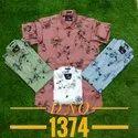 Mens Fancy Cotton Casual Shirt