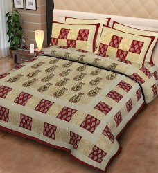 Cotton Double King Size  Bedsheets