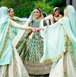 1ee24795c8 Lady Selection Green Wedding Lehenga, Rs 70000 /one, Lady Selection ...