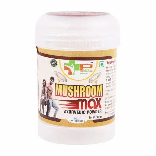 Brown Mushroom Max Ayurvedic Weight And Muscle Gainer, Packaging Type: Bottle