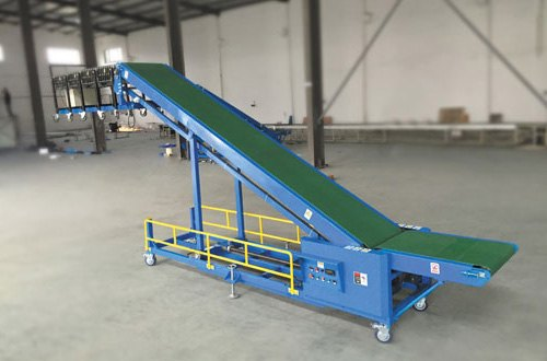 Material Handling Automation - Truck Loading Conveyor