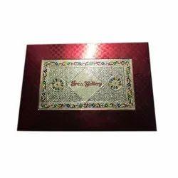 Designer Cardboard Saree Packing Box