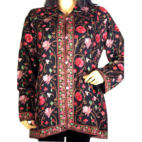 Woolen Embroidered Jacket