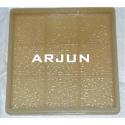 Square Chequered Tile Moulds