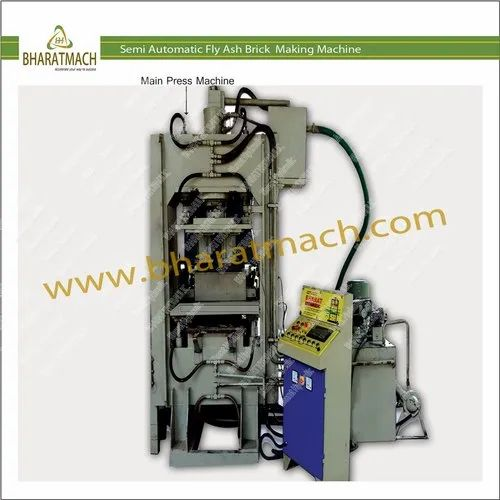 Semi Auto Fly Ash Bricks Machine - BHS-303FF