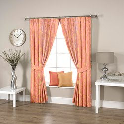 Dotted Pink Curtain