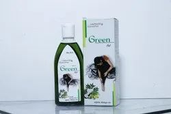Natural Green Herbal Hair Oil, Pack Size: 100 mL
