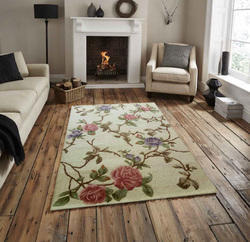 Vimla International Wool Hand-Tufted Accent Area Rug for Home, Size: 4 x 6 feet