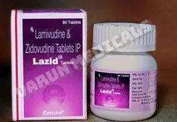 Lazid Tablets(Lamivudine & Zidovudine)