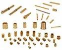 Brass Parts, For Industrial, Gold