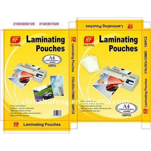 Hu Feng Lamination Pouch Packaging Box