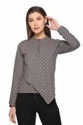 Women/Girls Full Sleeve Henley Top