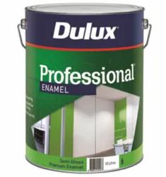 Dulux Professional Full Gloss Enamel Paint, Packaging Type: Tin