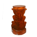 Wooden Look Lady Side Table