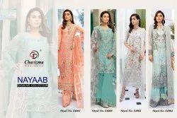 Multicolor Salwar Embroidery Work Suit