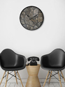 Printed Grey Marble Wall Clock 999