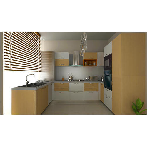 Modular Kitchen - U Shaped Modular Kitchen Manufacturer from