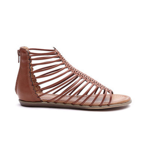 ac17067f1 Brown Women Ladies Flat Sandal