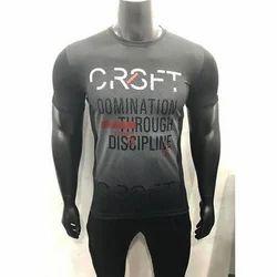 Men Printed Sports T-Shirts