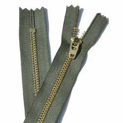 Colored Closed End Zipper