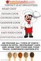 Cook/Chef Supplier In Hotel, Restaurant,Cafe,Qsr