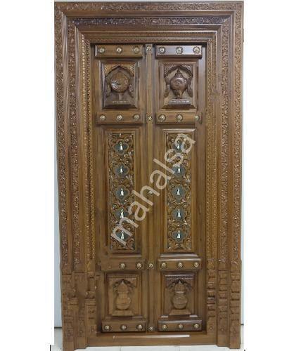 Entrance Door - Raised Panel Door Exporter from Bengaluru