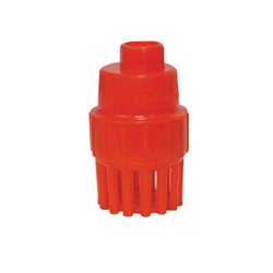 Plastic Threaded Spring Foot Valve