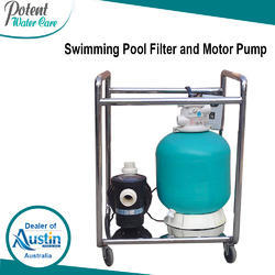 Swimming Pool Filter and Motor Pump