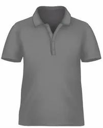 Polo T Shirt - Grey- Pack of 5 Pcs