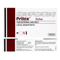 Prilox 30gm - Generic Emla - Lidocaine, Prilocaine Cream