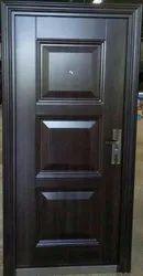 Security Steel Door, Size: 2050x960x70mm, Thickness: 70mm