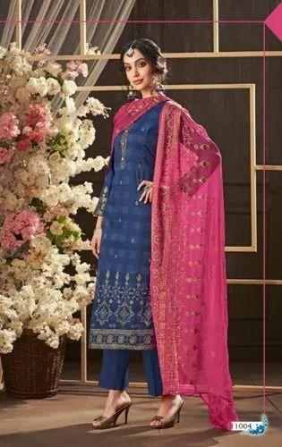 44c40095aec5 Mix Party Wear Designer Cotton Salwar Suit