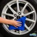 Microfiber简单豪华汽车清洁毛巾,尺寸:30 * 30厘米