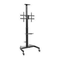 Steel Floor Stand TV Carts and Stands, Conference Room, Warranty: 1 Year