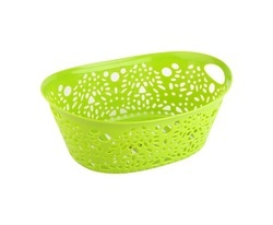 Plastic Fancy Basket - Medium