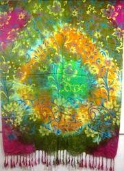 Sam Inc Female Ladies Printed Shawls, Size: 70x180 cm