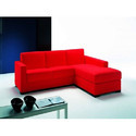 Red L Shape Sofa