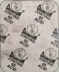 Champion Style 60 Acid Asbestos Jointing Sheet