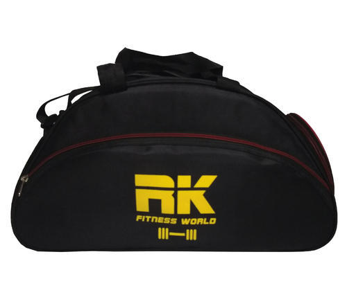 e8cb3ae94d Black   Red RK Lite Weight Gym Bag