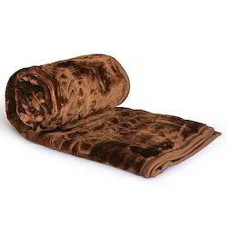 Embossed Double Bed Korean Mink Blanket 212