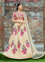 Art Silk Embroidery Work Designer Lehenga Choli
