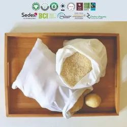 Gots Organic Cotton Cereals & Pulses Bag