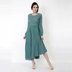 Women Cotton Dew Midi Dress